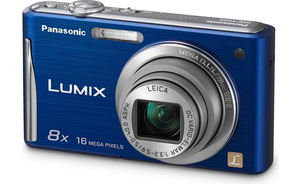 Panasonic Lumix DMC-FH25 Front - Blue