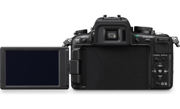 Panasonic Lumix DMC-GH2K Kit Back, LCD extended