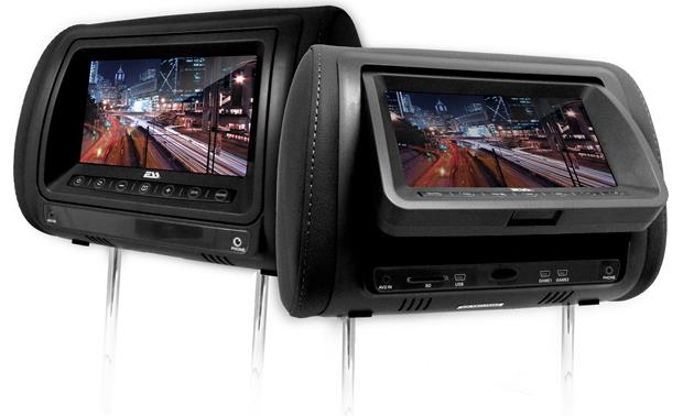 ESS Headrest Video Package Black