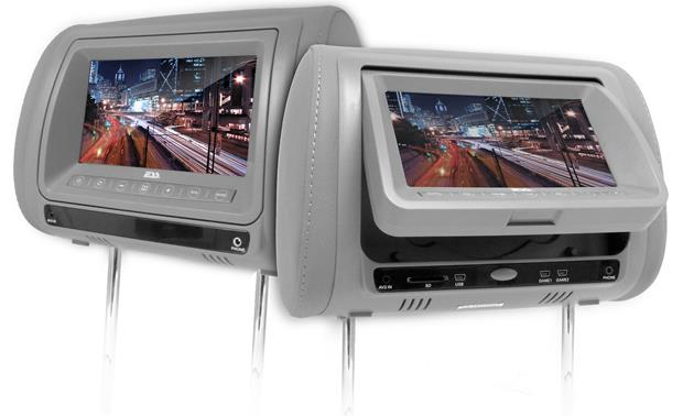 ESS Headrest Video Package Gray