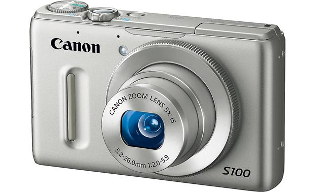 Canon PowerShot S100 Front - Silver