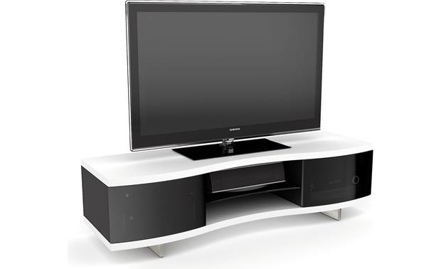 BDI OLA™ 8137 Satin White (TV and components not included)