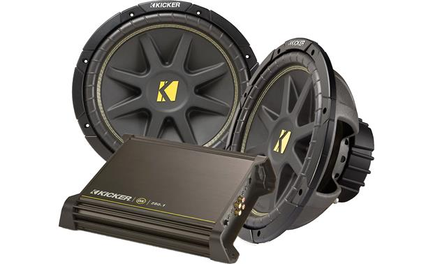 Kicker 250-watt Bass Package Front