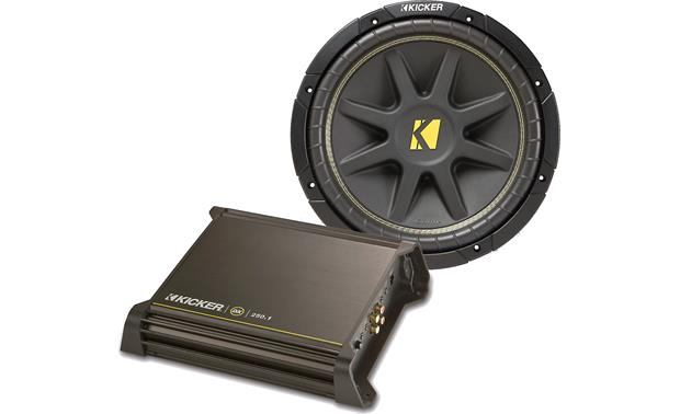 Kicker 140-watt Bass Package Front