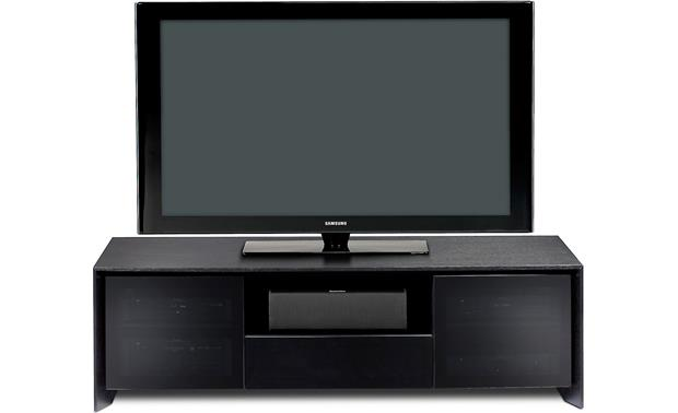 BDI Casata 8629-2 Black Stained Oak (TV and components not included)