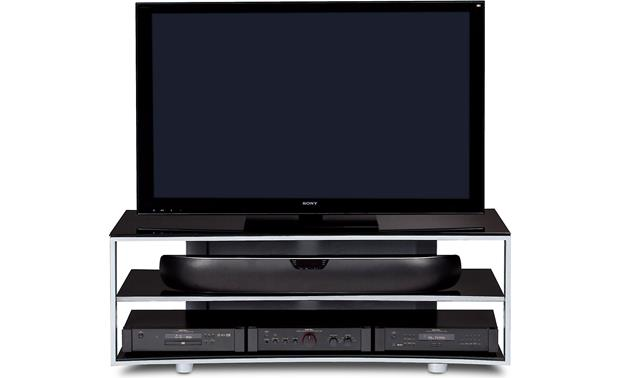 BDI Vexa 9239 Silver (TV and Components not included)