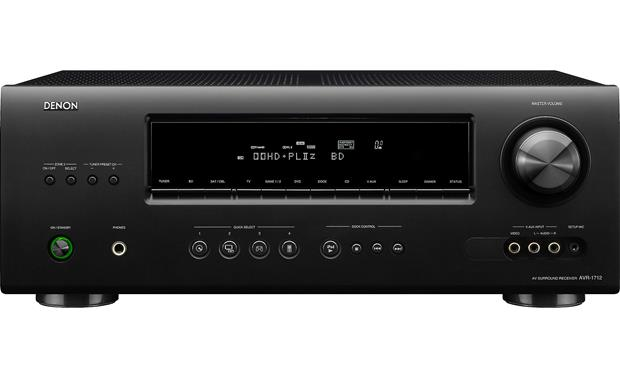 denon avr 1712 home theater receiver with 3d ready hdmi switching at rh crutchfield com  denon avr-1712 service manual