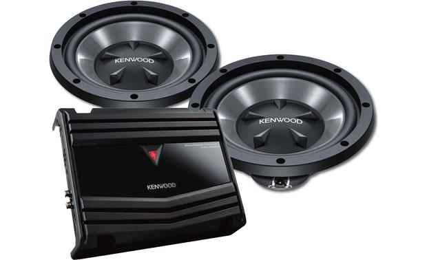 Kenwood 150-watt Bass Package Front