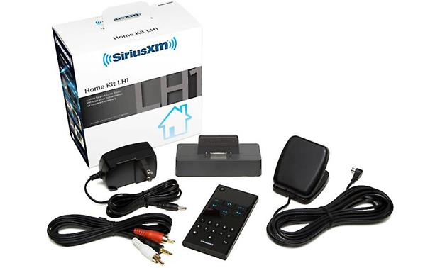 SiriusXM Lynx™ Home Kit Front