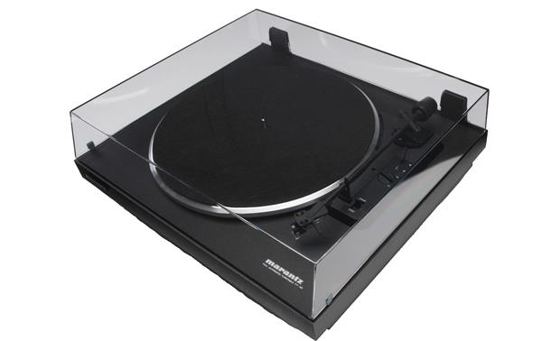 Marantz TT42 Shown with dust cover attached