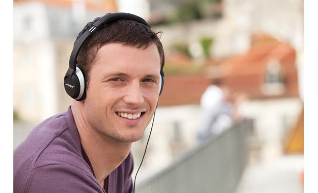 Bose® OE2 audio headphones Shown in black