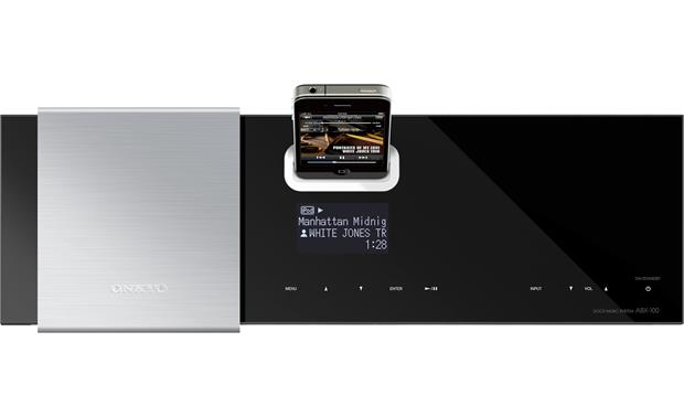 Onkyo ABX-100 Top view (iPhone not included)