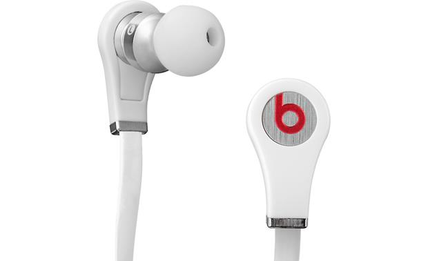 Beats Tour™ Closeup side and back view (White)