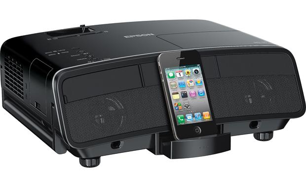Epson MegaPlex MG-50 Dock in back slides out (iPhone not included)