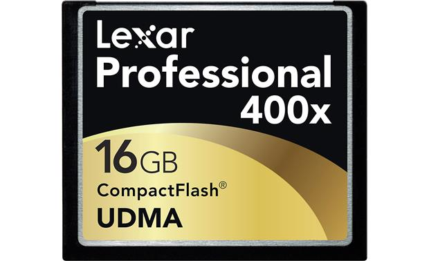 Lexar Professional CompactFlash® Card Front