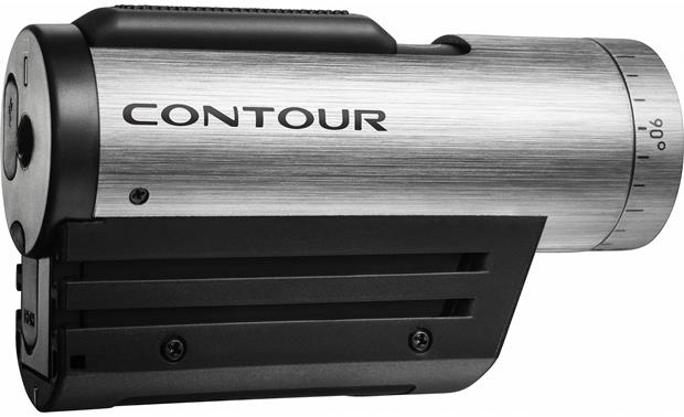 Contour Plus 1500 HD Action Camera side view, rear compartment visible