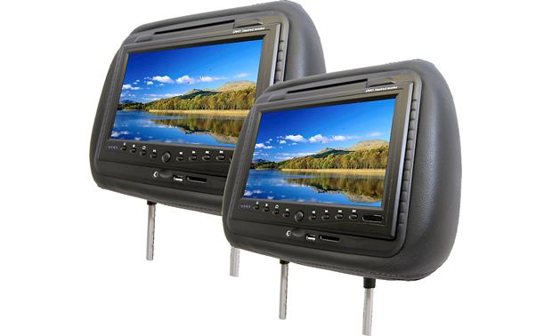 Accele Headrest Video Package Front
