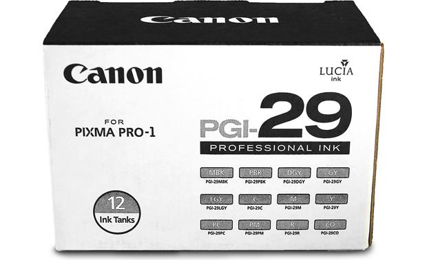 Canon PGI-29 12-pack of ink tanks Front
