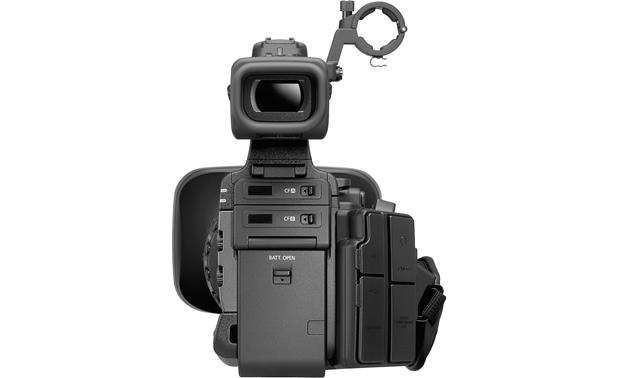 Canon XF305 High Definition Camcorder Back