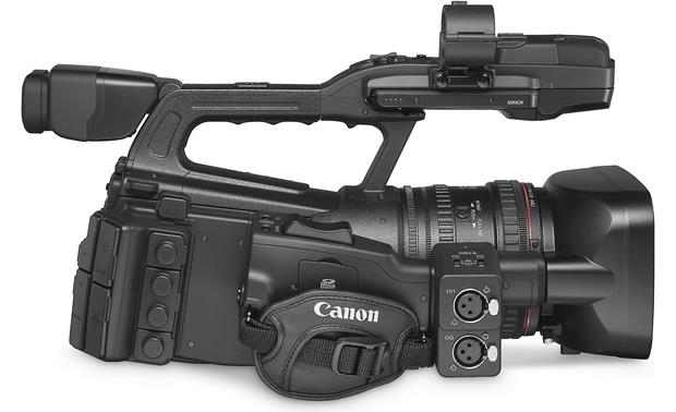 Canon XF305 High Definition Camcorder Right side view