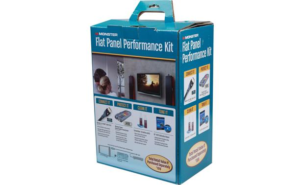 Monster Cable® Flat Panel Performance Kit Front