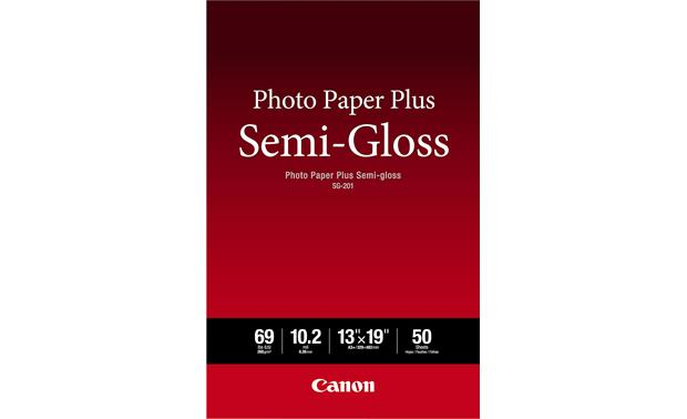 Canon Photo Paper Plus Semi-Gloss Front