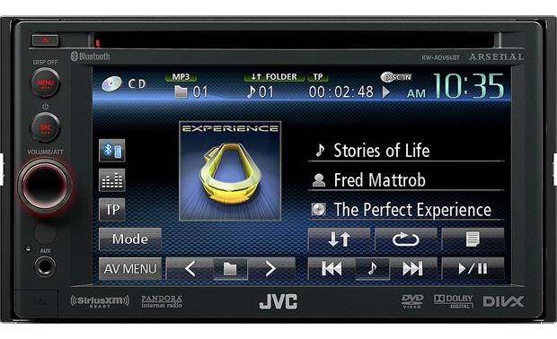 JVC Arsenal KW-ADV64BT Front