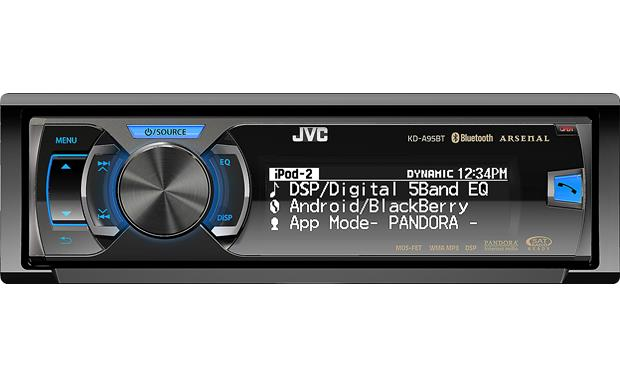 JVC Arsenal KD-A95BT Front