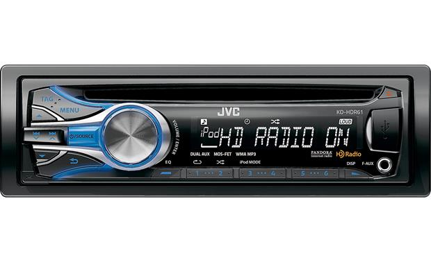 g105KDHDR61 o_front jvc kd hdr61 cd receiver at crutchfield com  at fashall.co