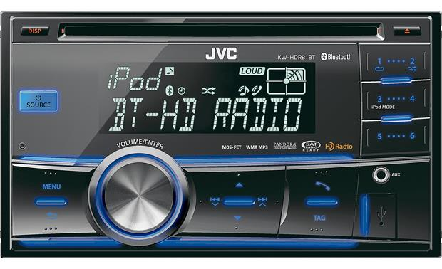 da40cbd45 JVC KW-HDR81BT CD receiver at Crutchfield.com