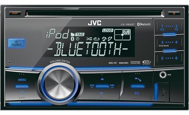 JVC KW R800BT CD Receiver At Crutchfield