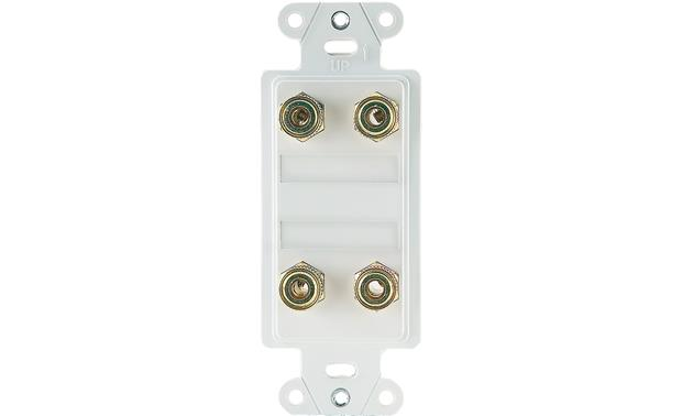 On-Q Dual-speaker Strap Expansion Kit (White) Front