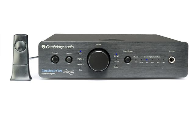 Cambridge Audio DacMagic Plus Shown with optional Cambridge Audio BT100 Bluetooth® adapter