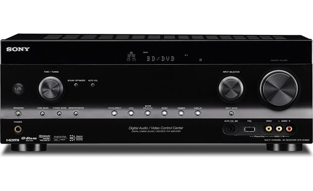 sony str dh820 home theater receiver 3d ready hdmi switching at rh crutchfield com