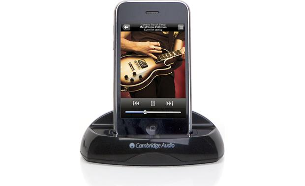 Cambridge Audio iD50 Black (iPhone not included)
