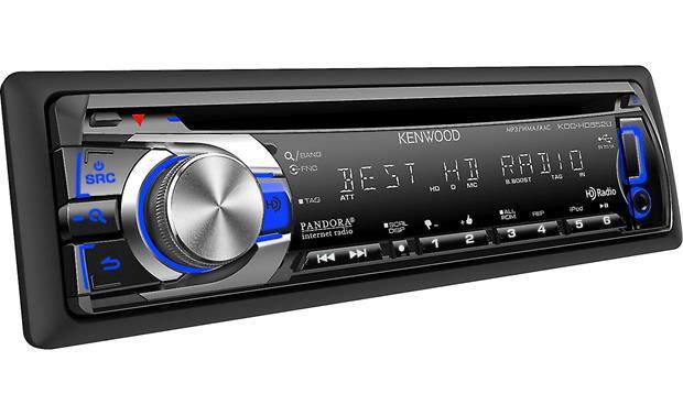 Kenwood KDC-HD552U CD receiver at Crutchfield.com on kenwood kdc-252u, kenwood kdc-152, kenwood kmr-700u,