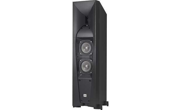 JBL Studio 570 Angled view with grille removed