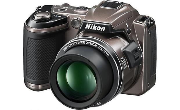 nikon coolpix l120 bronze 14 1 megapixel digital camera with 21x rh crutchfield com Nikon Coolpix L22 Camera Nikon Coolpix L22 Digital Camera