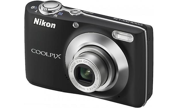 nikon coolpix l24 black 14 megapixel digital camera with 3 6x rh crutchfield com Datsun L24 Belt Nissan L24