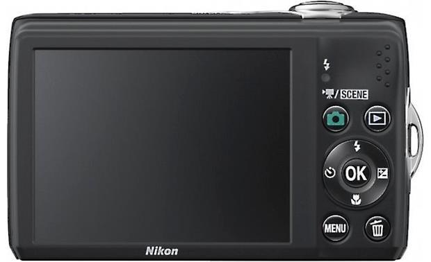 Nikon Coolpix L24 Black 14 Megapixel Digital Camera With 3 6x Optical Zoom At Crutchfield