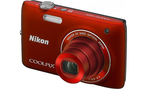 nikon coolpix s4100 red 14 megapixel digital camera with 5x rh crutchfield com Nikon Coolpix S4100 Digital Camera Software for Nikon Coolpix S4100