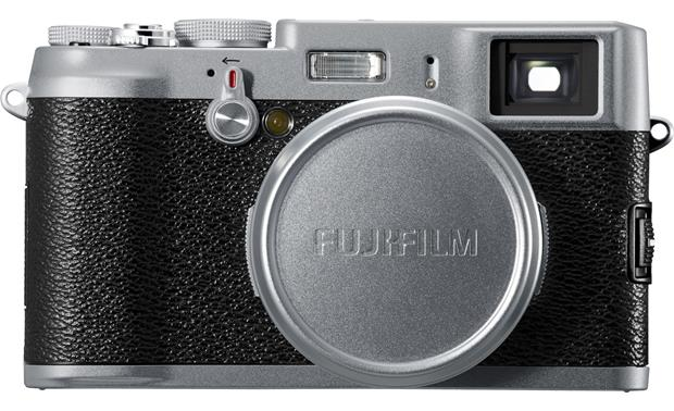 Fujifilm FinePix X100 Front (with lens cap attached)