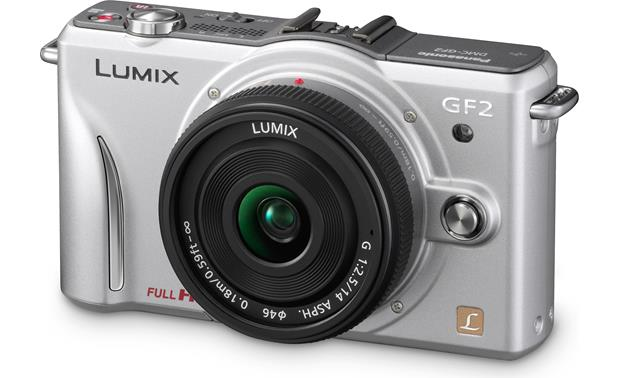 Panasonic Lumix DMC-GF2CK Kit Silver