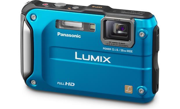 panasonic lumix dmc ts3 blue tough style 12 1 megapixel digital rh crutchfield com panasonic lumix dmc-ts3 owners manual Panasonic Lumix G