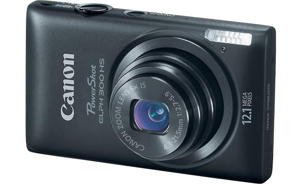 canon powershot elph 300 hs black 12 1 megapixel digital camera rh crutchfield com canon elph 300 hs user manual ELPH 300 HS Memory Max