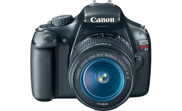 Canon EOS Rebel T3 Kit Straight-on view