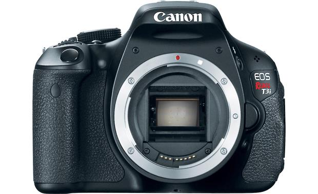 Canon EOS Rebel T3i Kit Body with lens removed