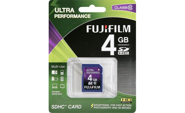 Fujifilm SDHC Memory Card Front