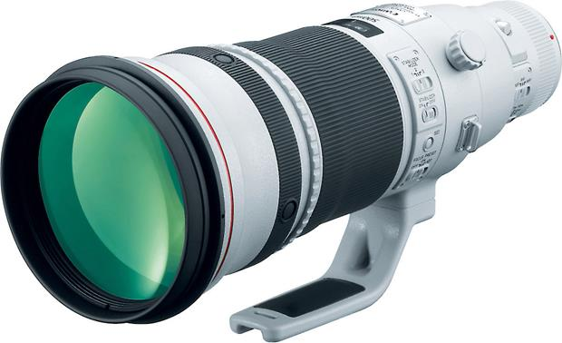 Canon EF-500mm f/4.0L IS II USM Front