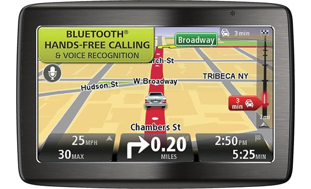 TomTom VIA 1535 TM Portable navigator with voice recognition